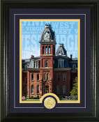 "West Virginia Mountaineers ""Campus Traditions"" Photo Mint"