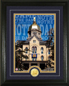 "Notre Dame Fighting Irish ""Campus Traditions"" Photo Mint"