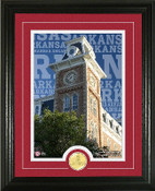 "Arkansas Razorbacks ""Campus Traditions"" Photo Mint"