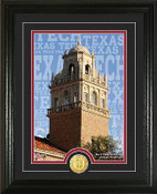 "Texas Tech Red Raiders ""Campus Traditions"" Photo Mint"