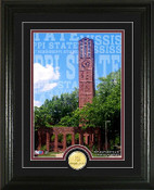 "Mississippi State Bulldogs ""Campus Traditions"" Photo Mint"