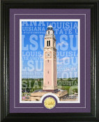 "LSU Tigers ""Campus Traditions"" Photo Mint"