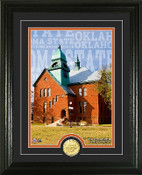 "Oklahoma State Cowboys ""Campus Traditions"" Photo Mint"