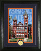"Auburn Tigers ""Campus Traditions"" Photo Mint"
