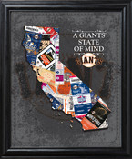 San Francisco Giants State of Mind Framed Print