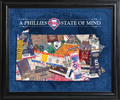 Philadelphia Phillies State of Mind Framed Print