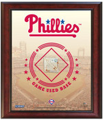 Philadelphia Phillies Game-Used Base Stadium Collage