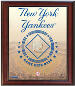 New York Yankees Game-Used Base Stadium Collage