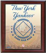 New York Yankees Game-Used Base Stadium Collage