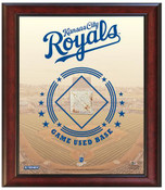 Kansas City Royals Game-Used Base Stadium Collage