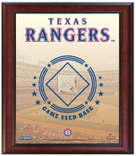 Texas Rangers Game-Used Base Stadium Collage