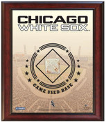 Chicago White Sox Game-Used Base Stadium Collage