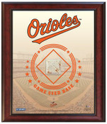 Baltimore Orioles Game-Used Base Stadium Collage