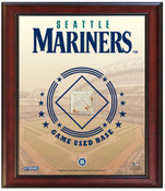 Seattle Mariners Game-Used Base Stadium Collage