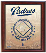 San Diego Padres Game-Used Base Stadium Collage