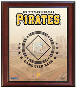 Pittsburgh Pirates Game-Used Base Stadium Collage
