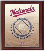 Washington Nationals Game-Used Base Stadium Collage
