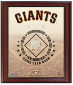 San Francisco Giants Game-Used Base Stadium Collage