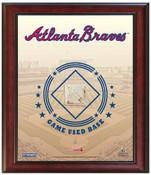 Atlanta Braves Game-Used Base Stadium Collage
