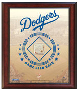Los Angeles Dodgers Game-Used Base Stadium Collage