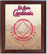 St. Louis Cardinals Game-Used Base Stadium Collage