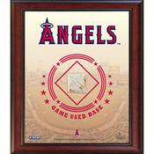 Los Angeles Angels Game-Used Base Stadium Collage