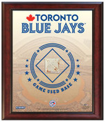 Toronto Blue Jays Home Sweet Home Sign w/Game Used Dirt