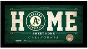 "Oakland A's ""The Man Cave"" Bronze Coin Panoramic Photo Mint"