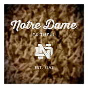 Notre Dame Faithful Wall Art Art