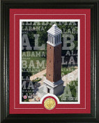 "Alabama Crimson Tide ""Campus Traditions"" Photo Mint"