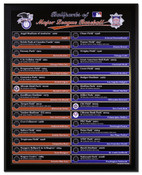 Ballparks of Major League Baseball Executive Plaque