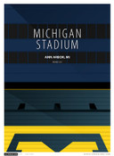 Michigan Wolverines - Michigan Stadium Simple Print