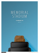 Clemson Tigers - Memorial Stadium Simple Print