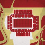 Boston College Eagles - Alumni Stadium City Print