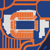 Boise State Broncos - Albertsons Stadium City Print