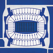 Kentucky Wildcats - Commonwealth Stadium City Print
