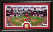 "St. Louis Cardinals ""Traditions"" Bronze Coin Panoramic Photo Min"
