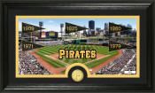 "Pittsburgh Pirates ""Traditions"" Bronze Coin Panoramic Photo Mint"