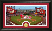 "Philadelphia Phillies ""Traditions"" Bronze Coin Panoramic Photo M"