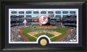 "New York Yankees ""Traditions"" Bronze Coin Panoramic Photo Mint"