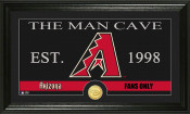 "Arizona Diamondbacks ""Man Cave"" Bronze Coin Photo Mint"