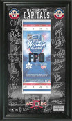 Washington Capitals 2015 Winter Classic Signature Ticket