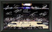 San Antonio Spurs - AT&T Center Signature Court