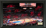 Los Angeles Clippers - Staples Center Signature Court