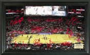 Houston Rockets - Toyota Center Signature Court