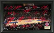 Detroit Pistons - Palace of Auburn Hills Signature Court