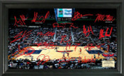 Atlanta Hawks - Philips Arena Signature Court
