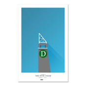 Pittsburgh Pirates - Three Rivers Stadium Art Poster