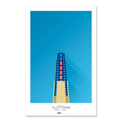 New England Patriots - Gillette Stadium Art Poster