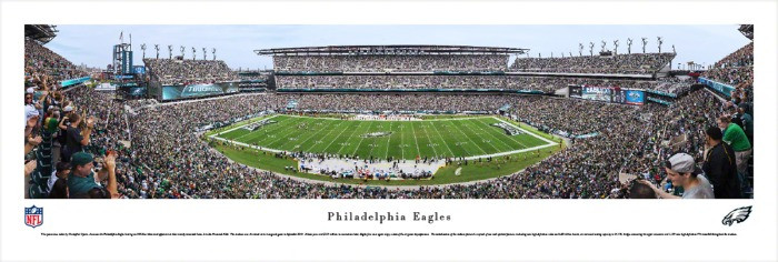 Philadelphia Eagles at Lincoln Financial Field Panorama Poster